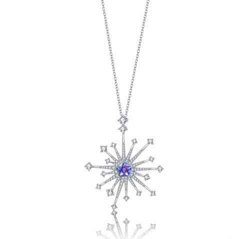 Fei Liu Carpe Diem Collection Heidi Kjeldsen Jewellery Large Star Pendant P1490 Front