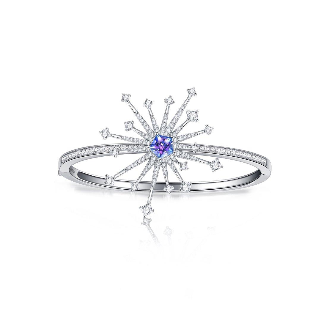 Fei Liu Carpe Diem Collection Heidi Kjeldsen Jewellery Sparkler Bangle BL1405 Top