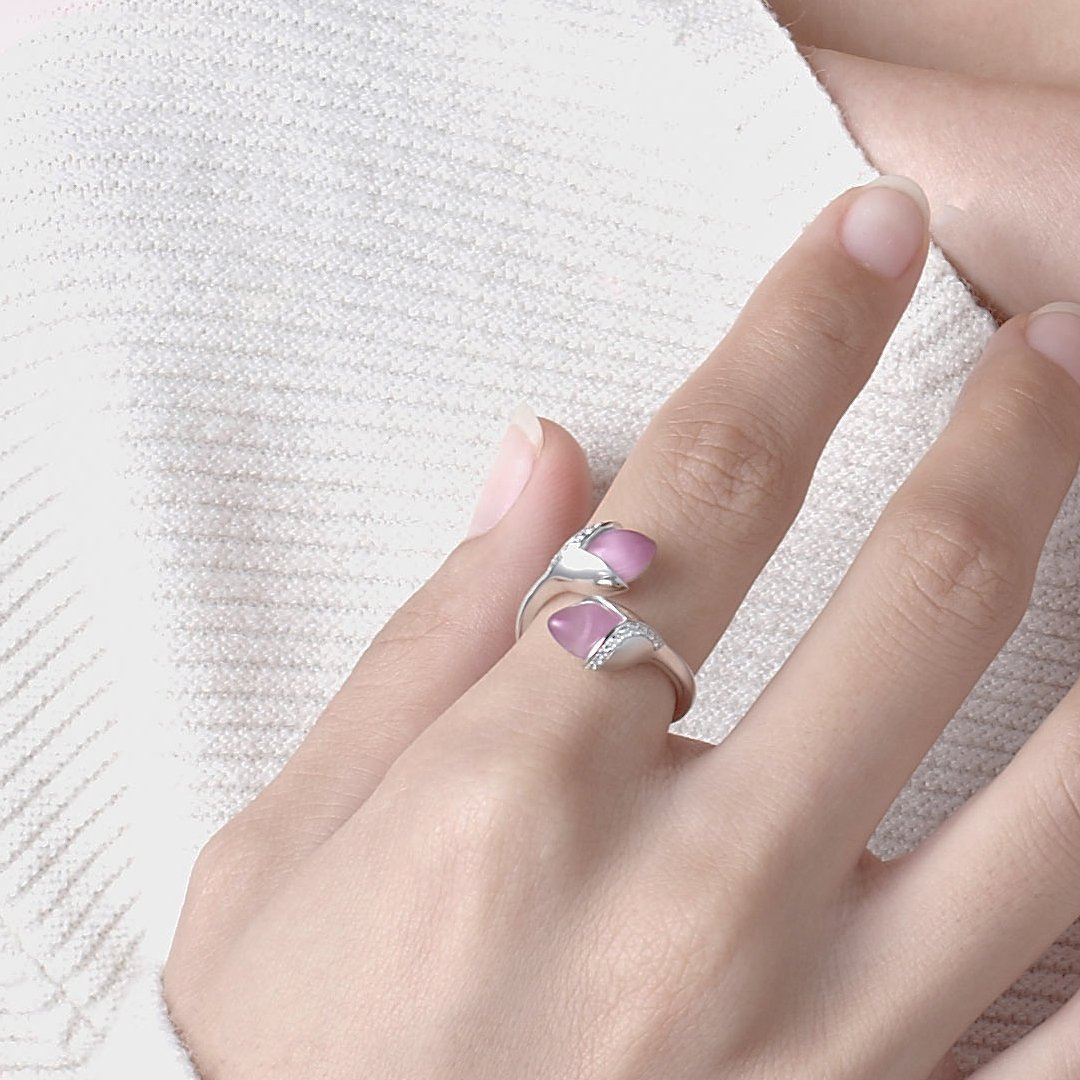 Fei Liu Magnolia Collection Pink Heidi Kjeldsen Jewellers R1690 Model