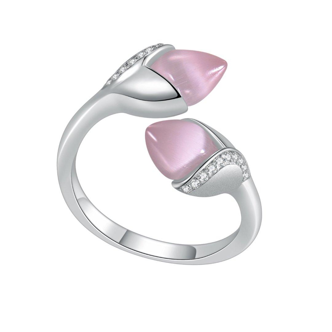 Fei Liu Magnolia Collection Pink Heidi Kjeldsen Jewellers R1690 Side