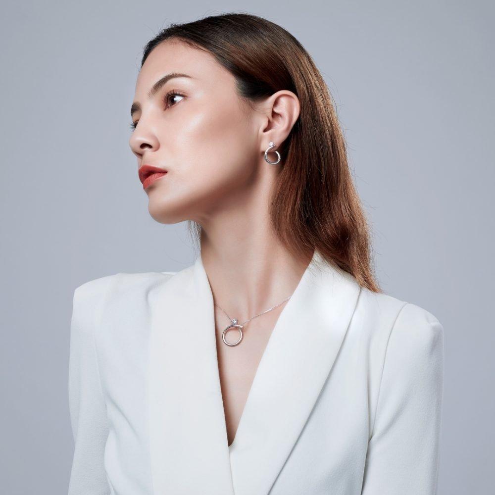 Fei Liu Radiance Collection Heidi Kjeldsen Jewellers P1487 Model