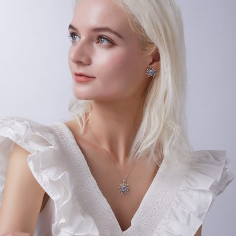 Fei Liu Carpe Diem Collection Heidi Kjeldsen Jewellery Sparkler Pendant P1489 Model
