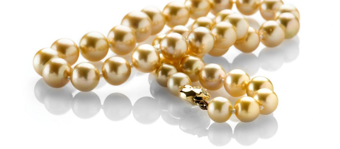 Heidi Kjeldsen Top of the Range Golden South Sea Pearls Necklace ALT1 NL835